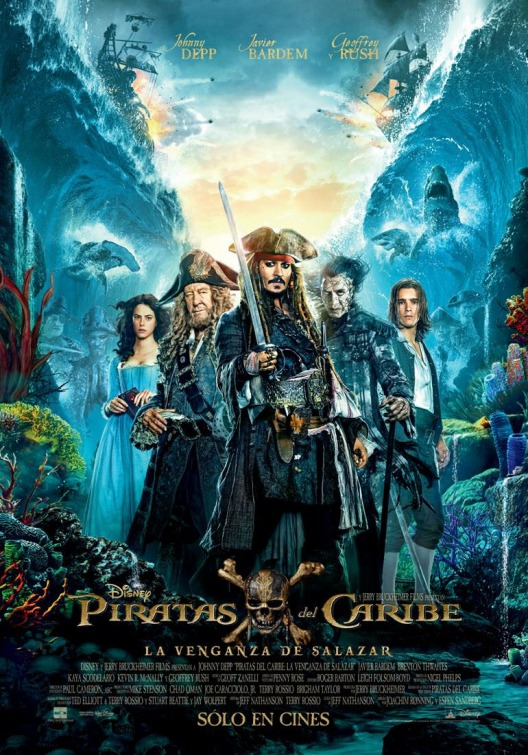Piratas del Caribe 5, La Venganza de Salazar