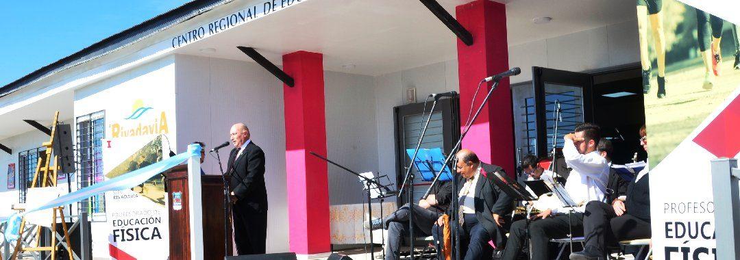 Con una importante inversión en educación Rivadavia celebró sus 134 años de vida